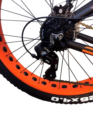 "HARTMAN 26"" Force Pro Disk FAT-Bike 24ск."