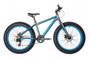 "Подростковый HARTMAN 24"" Monstr Disk FAT-Bike 7ск."